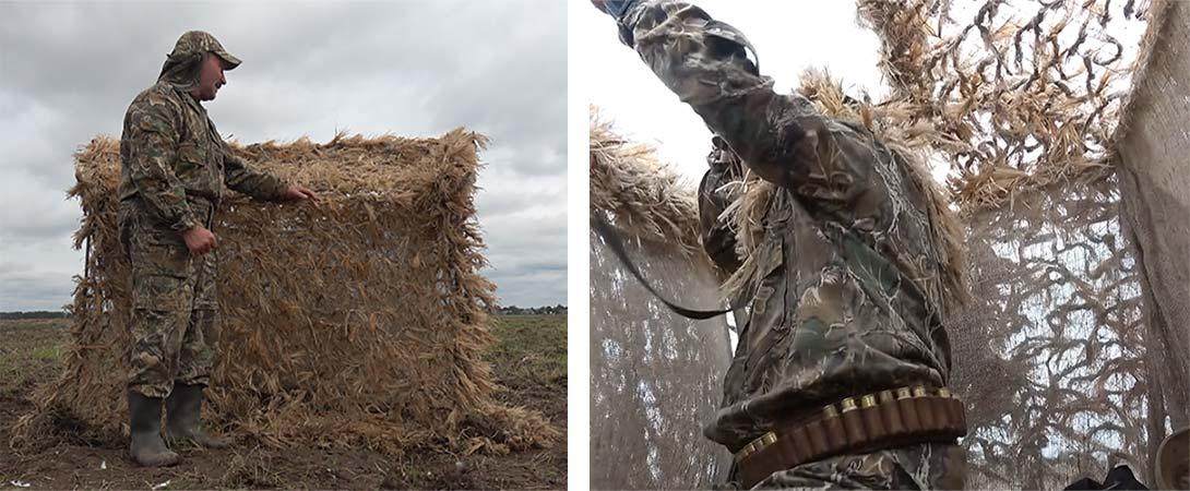 Маскировочные сети для охоты своими руками 142